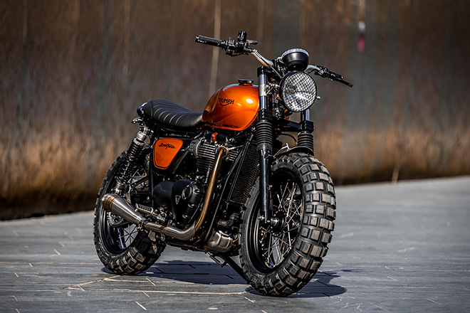 Triumph Street Twin by Down & Out Cafe Racers 5