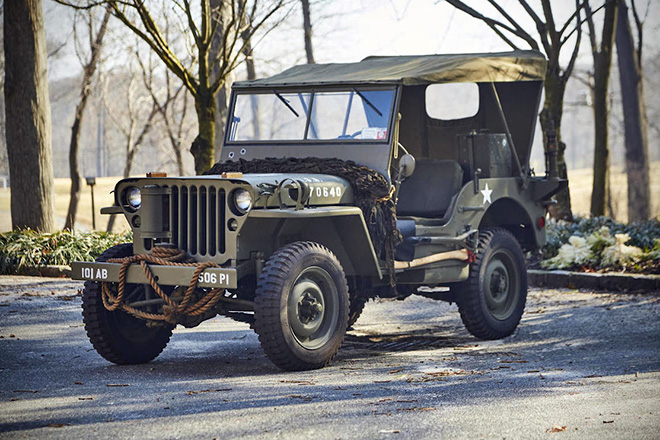 1943 Willys Jeep With Trailer 0