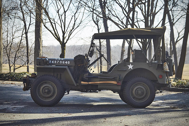 1943 Willys Jeep With Trailer 1