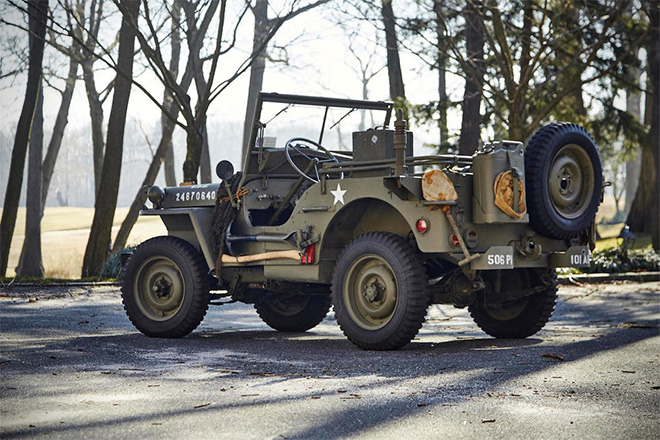 1943 Willys Jeep With Trailer 2