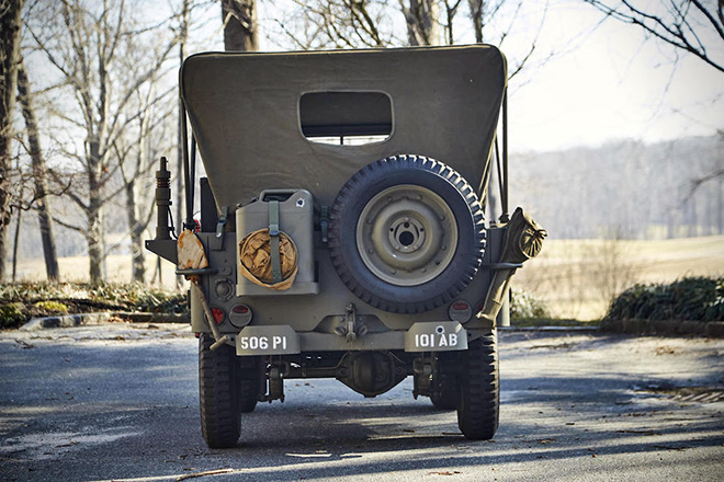 1943 Willys Jeep With Trailer 3