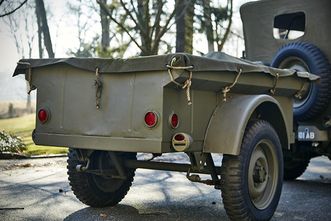 1943 Willys Jeep With Trailer 6