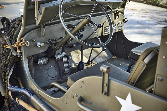 1943 Willys Jeep With Trailer 7