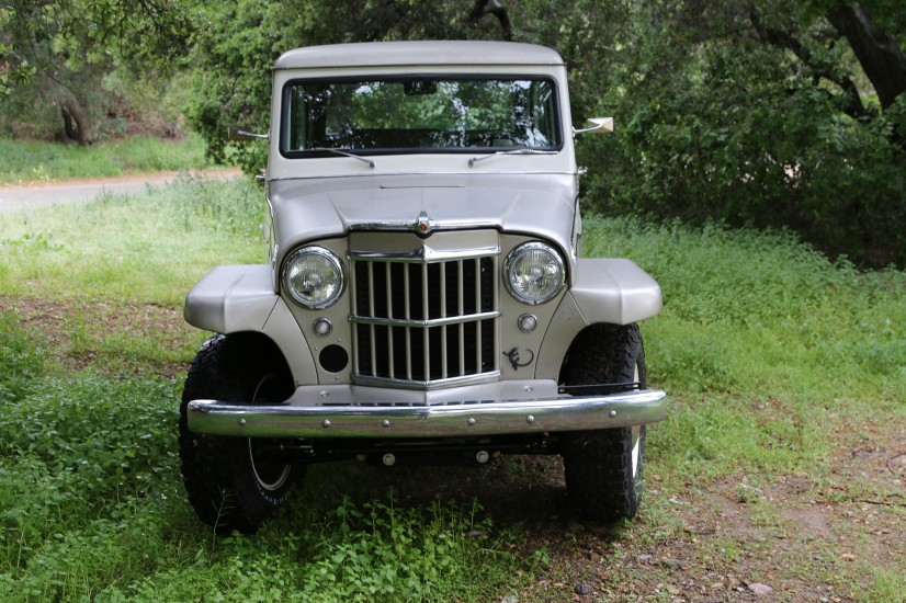 1960 ICON Derelict Willys Overland Wagon 1