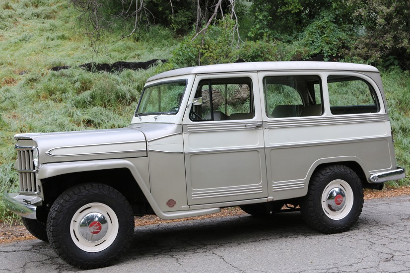 1960 ICON Derelict Willys Overland Wagon 2