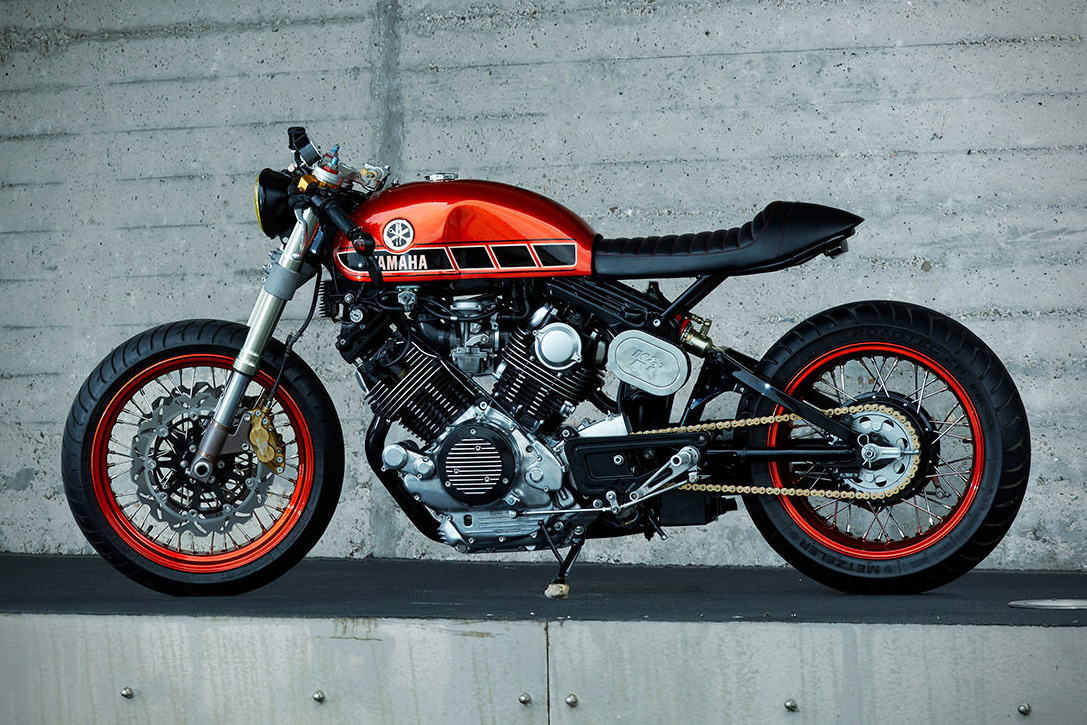 1984 Yamaha TR 1 Cafe Racer By Roland Snel 2