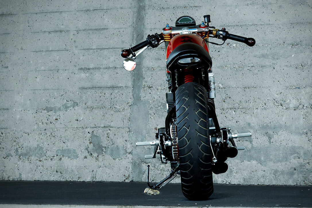 1984 Yamaha TR-1 Cafe Racer By Roland Snel 5