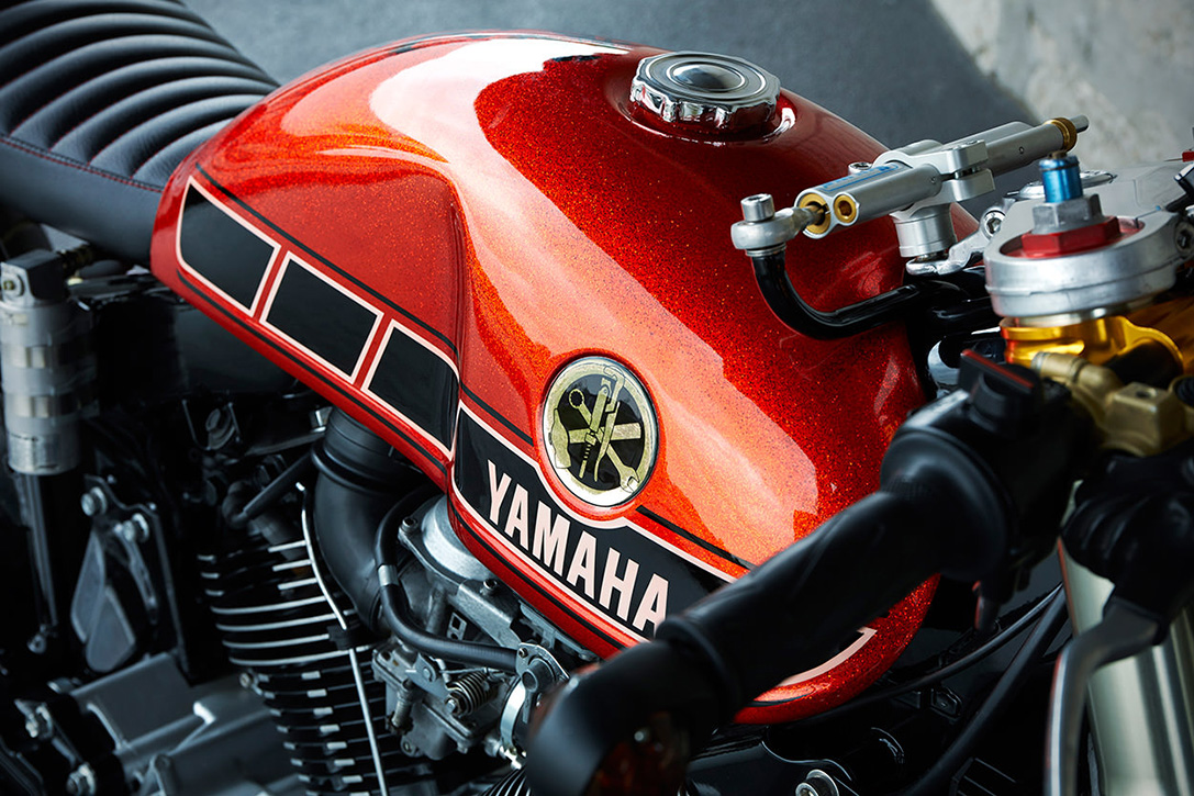 1984 Yamaha TR-1 Cafe Racer By Roland Snel 6