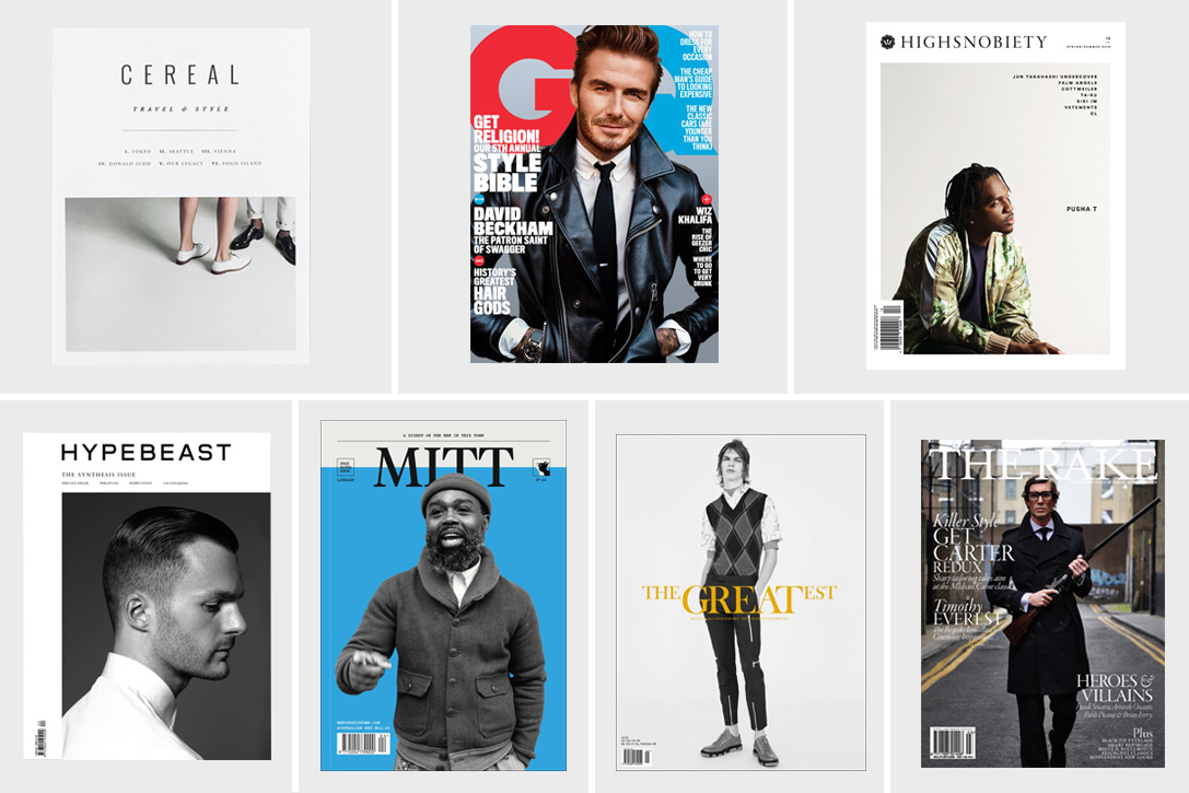 Best Men's Fashion Magazines