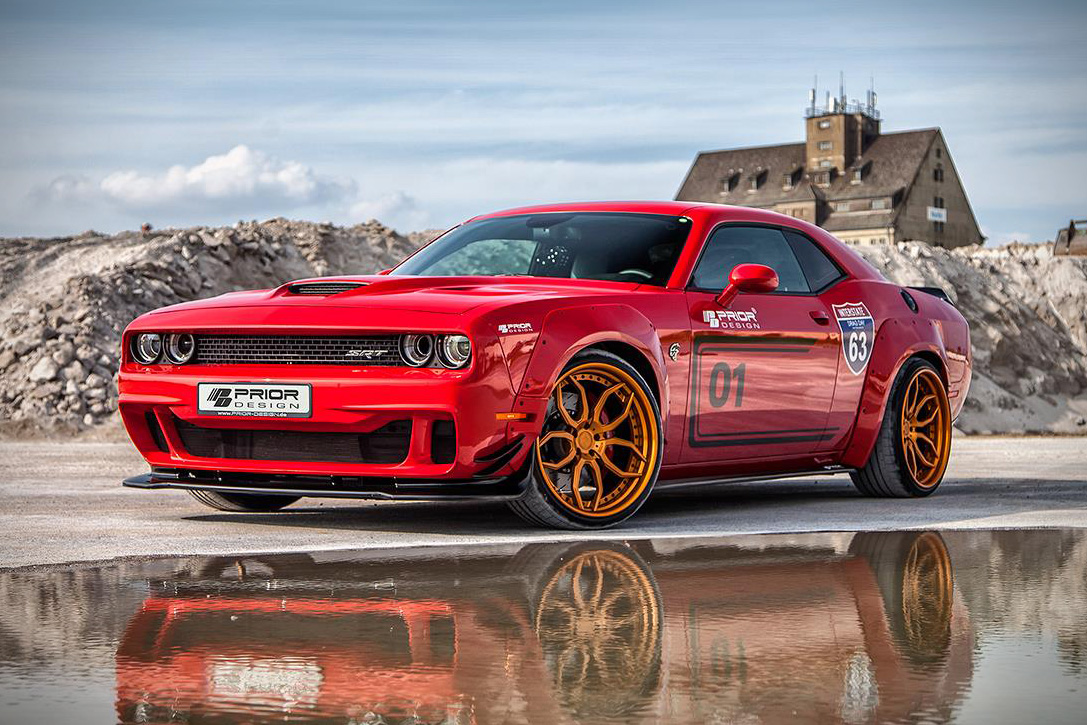 Dodge Challenger Hellcat by Prior Design | HiConsumption