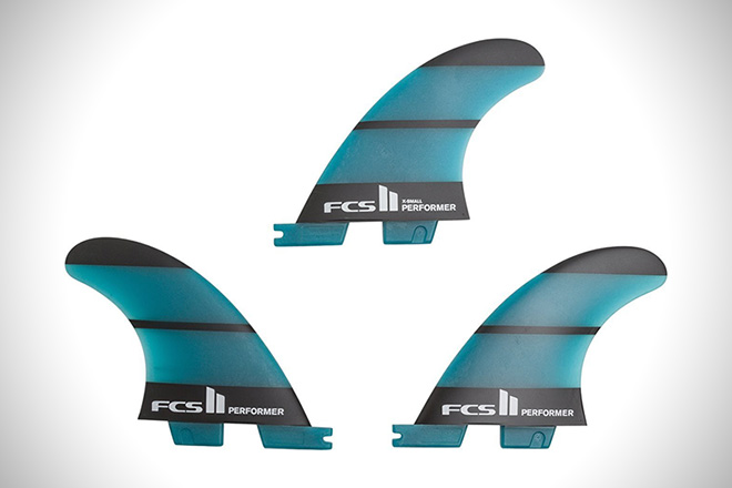 FCS II Performer Neo Glass Tri Fin Set