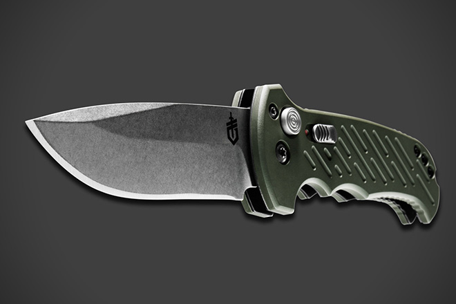 Gerber 06 Automatic 10th Anniversary Knife 4
