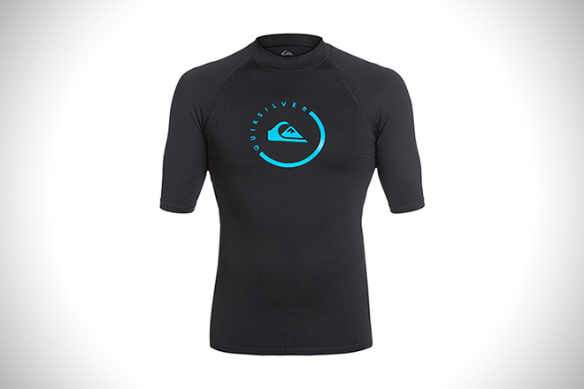 Quiksilver Lock Up Short Sleeve Rashguard