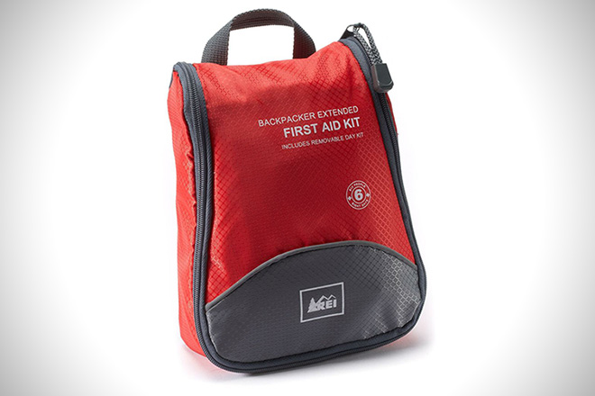 REI Backpacker Extended First Aid Kit
