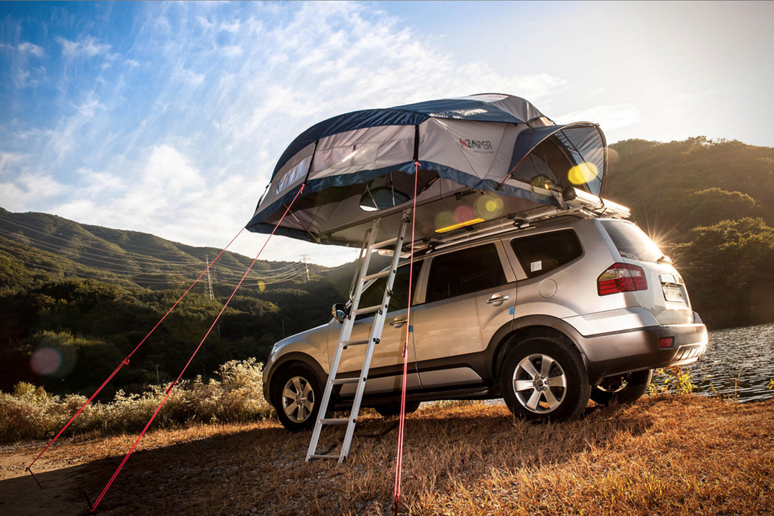 Road Trip Roof Top Tent By Ikamper Hiconsumption