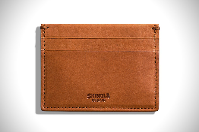 Shinola Five Pocket Card Case