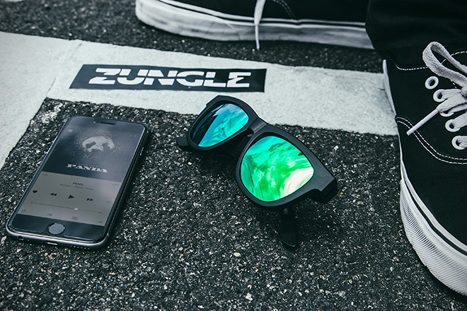 Zungle Panther Bluetooth Sunglasses 4