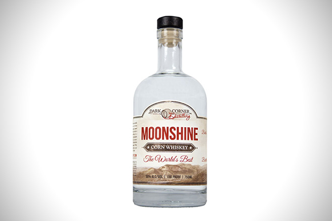 Dark Corner Distillery Moonshine
