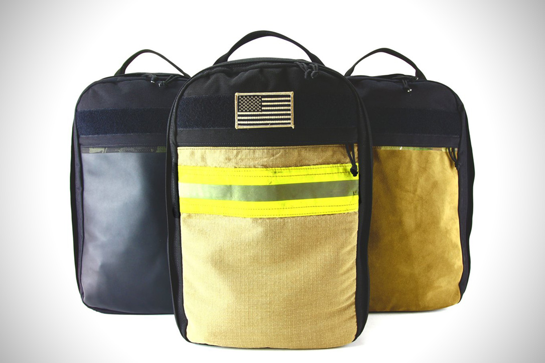 EDC Chief Backpack By Recycled FireFighter 1