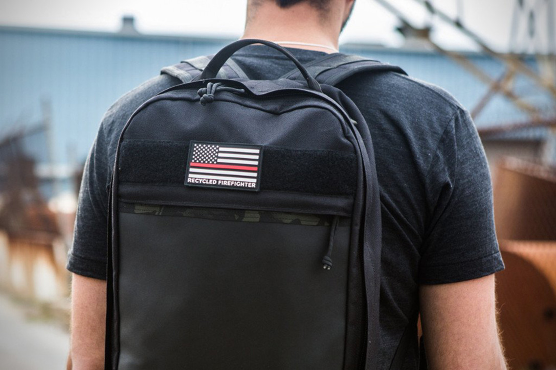 EDC Chief Backpack By Recycled FireFighter 8
