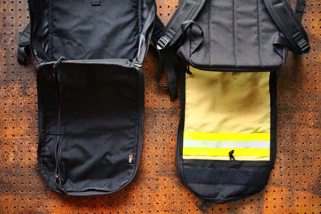 EDC Chief Backpack By Recycled FireFighter 9