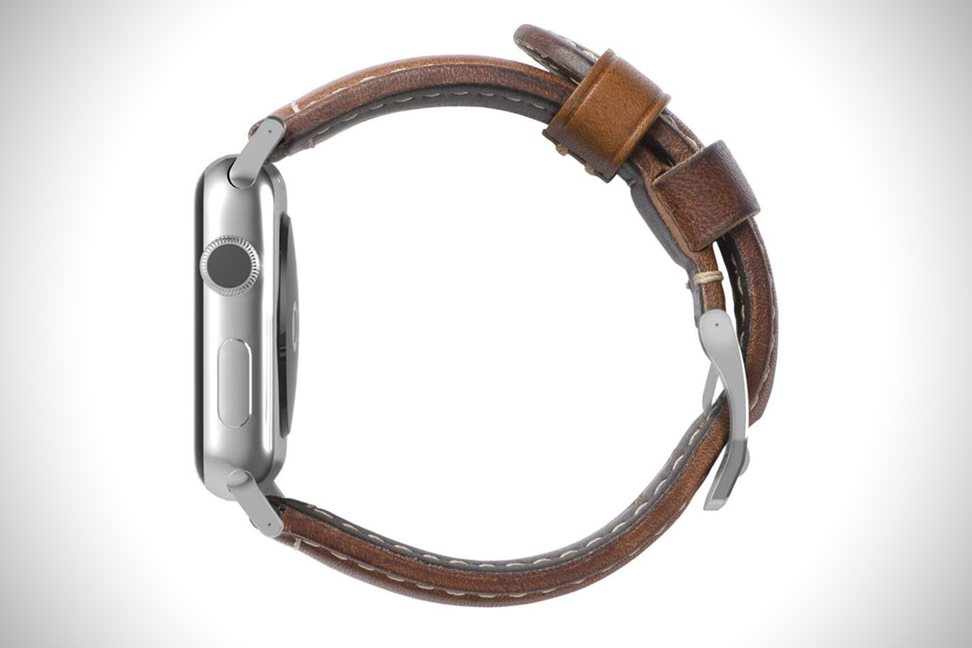 Horween Leather Apple Watch Strap 4