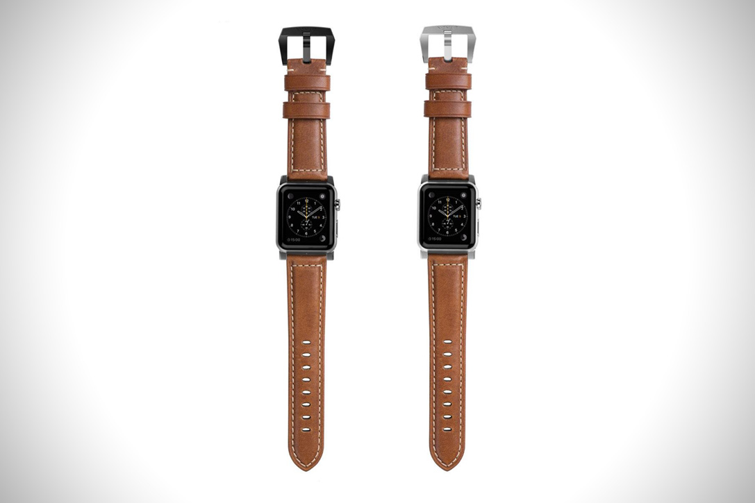 Horween Leather Apple Watch Strap 5