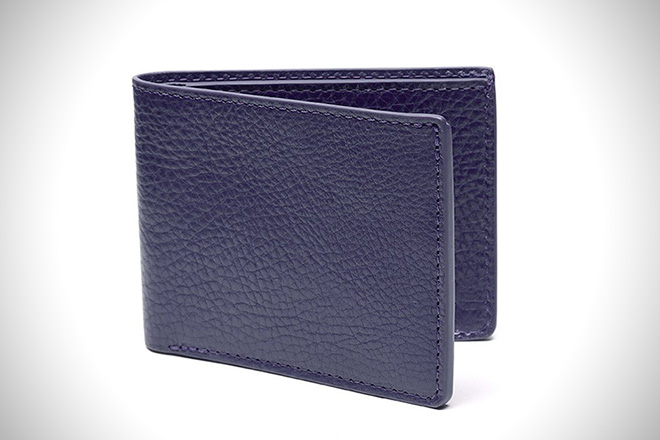 Lotuff Two-Pocket Leather Bifold