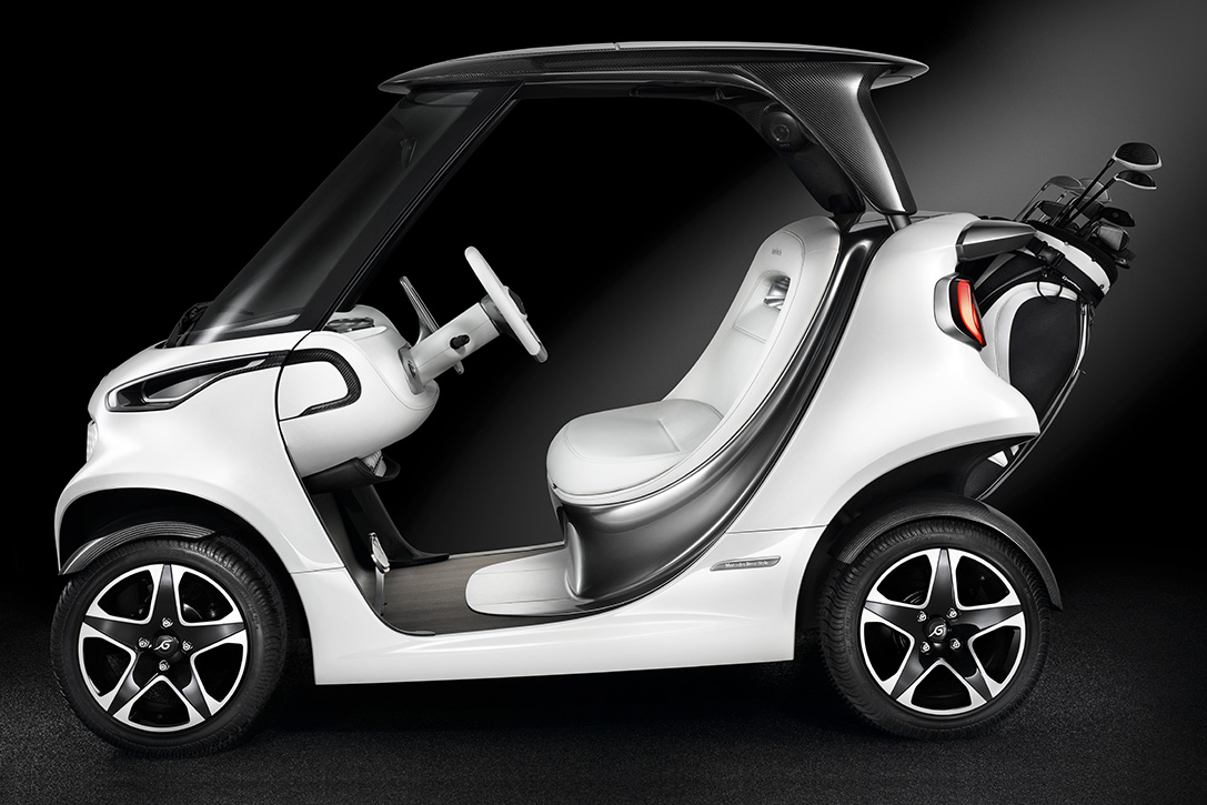 Mercedes Benz X Garia Luxury Golf Cart Hiconsumption