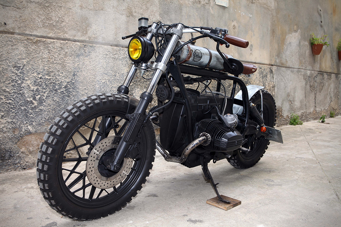 Mad Max BMW R65 by Delux Motorcycles 5
