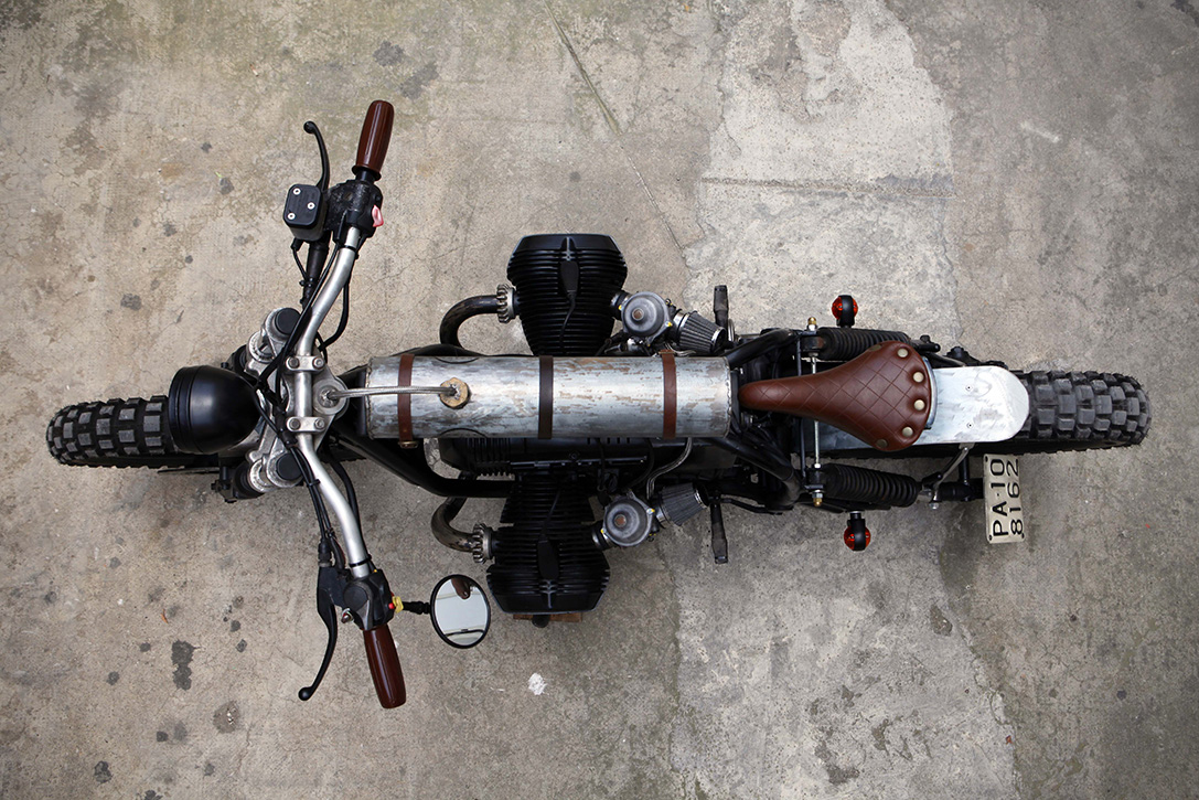 Mad Max BMW R65 by Delux Motorcycles 8