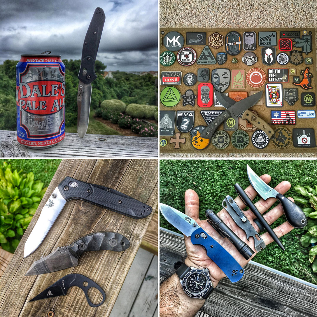 Mostly Knives Instagram