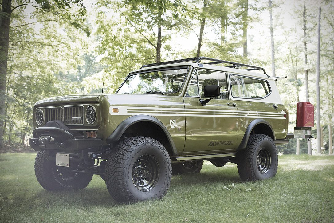 Truck Off Road 4x4 >> International Harvester Scout by Anything Scout | HiConsumption