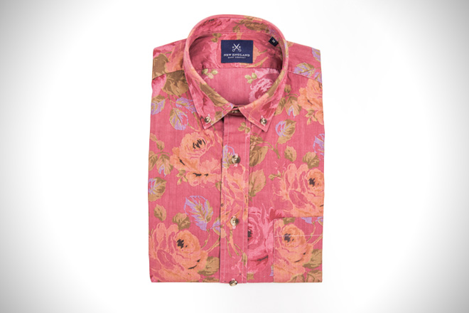 New England Shirt Company Rosecliff