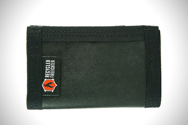 Recycled Firefighter Leather Rookie