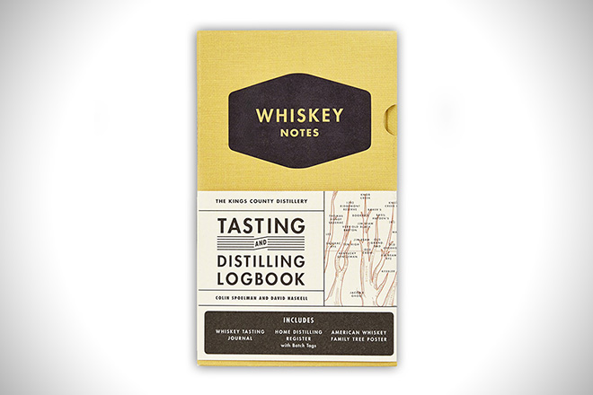 The Kings County Distillery: Whiskey Logbook