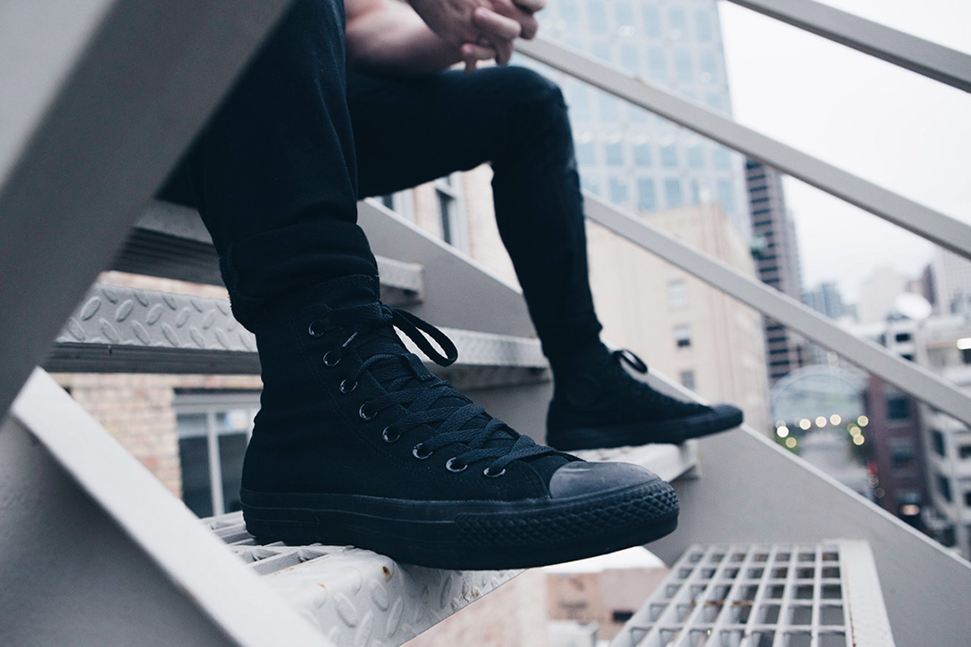 4af5753f6fd Blacked Out: 15 Best All Black Sneakers For Men | HiConsumption