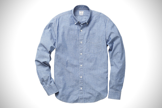 bbf7f6ac The 12 Best Chambray Shirts For Men | HiConsumption
