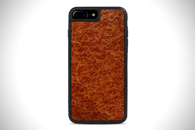 Redwood Burl IPHONE 7 PLUS TRAVELER WOOD CASE
