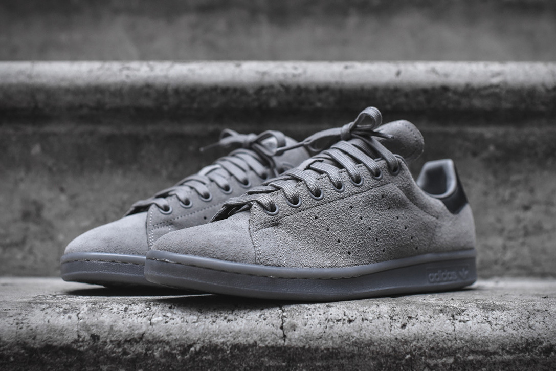 new product 537b9 717bf Adidas Originals Stan Smith - All Grey | HiConsumption