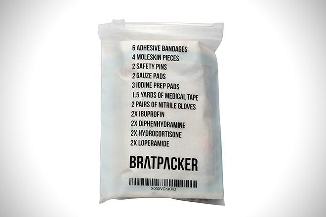 Bratpacker travel medical kit