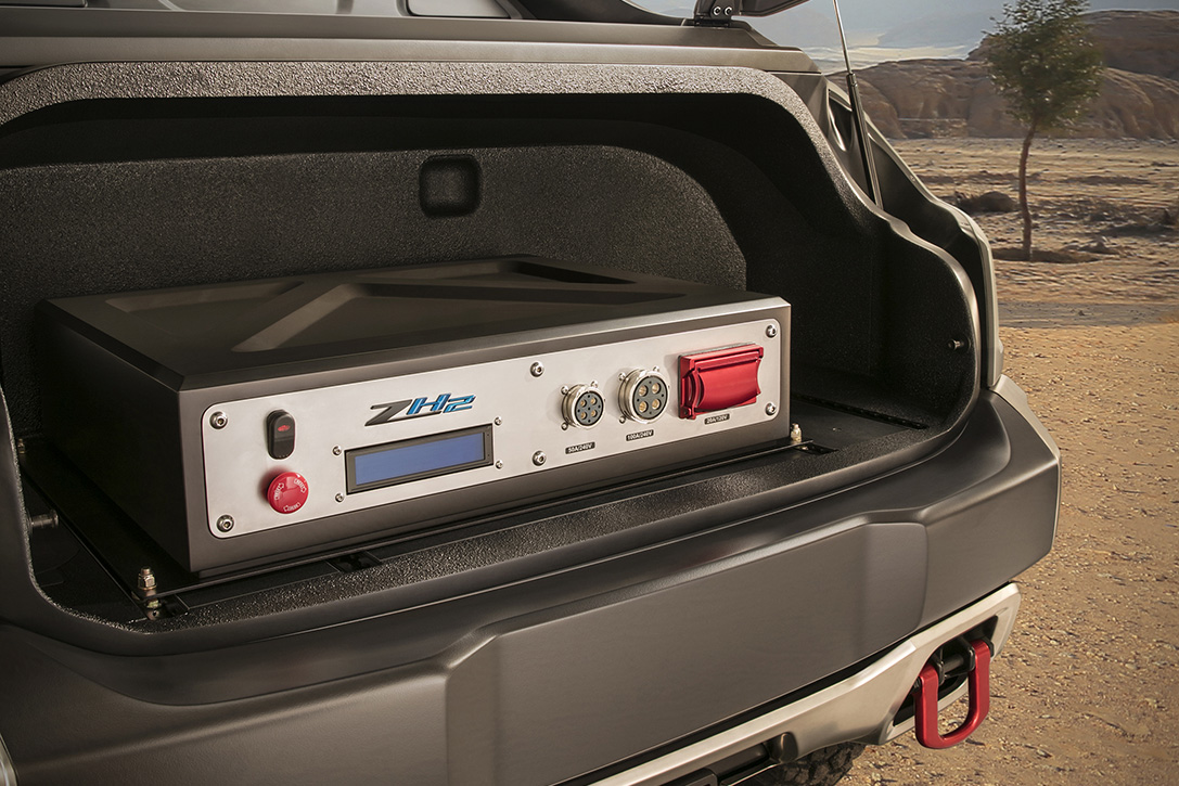 Chevy Colorado ZH2 Fuel Cell Vehicle 4