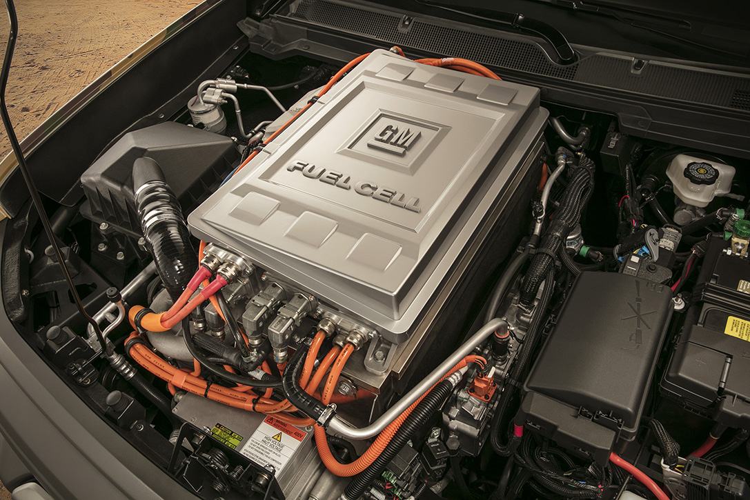 Chevy Colorado ZH2 Fuel Cell Vehicle 6
