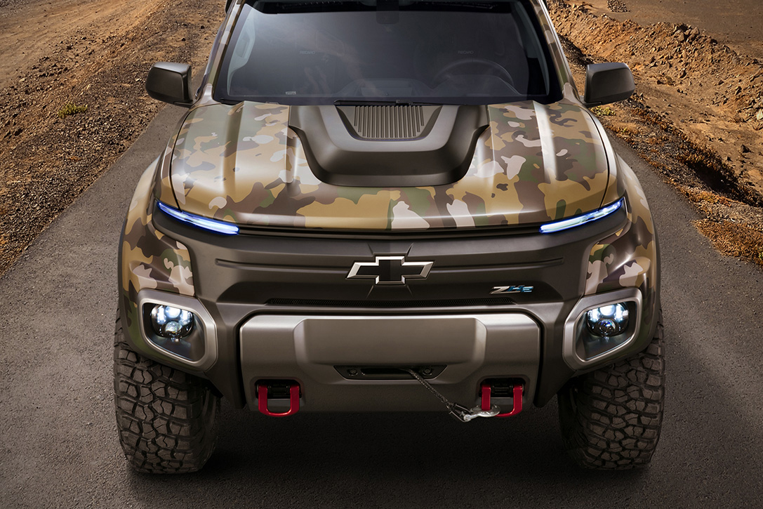 Chevy Colorado ZH2 Fuel Cell Vehicle 8