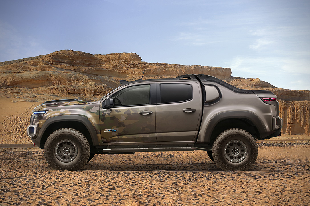 Chevy Colorado ZH2 Fuel Cell Vehicle 9