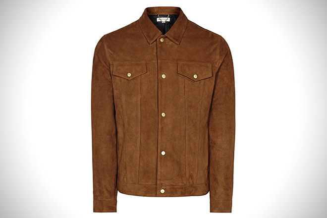 Reiss Downing Suede Jacket