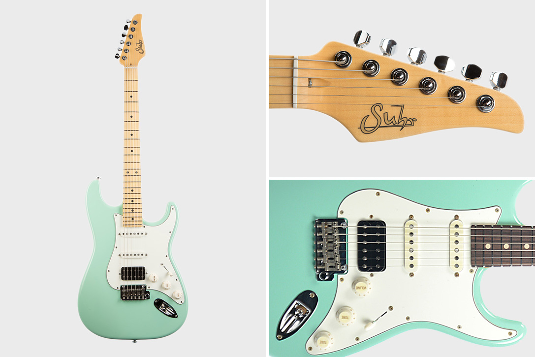 Suhr Guitars Surf Green