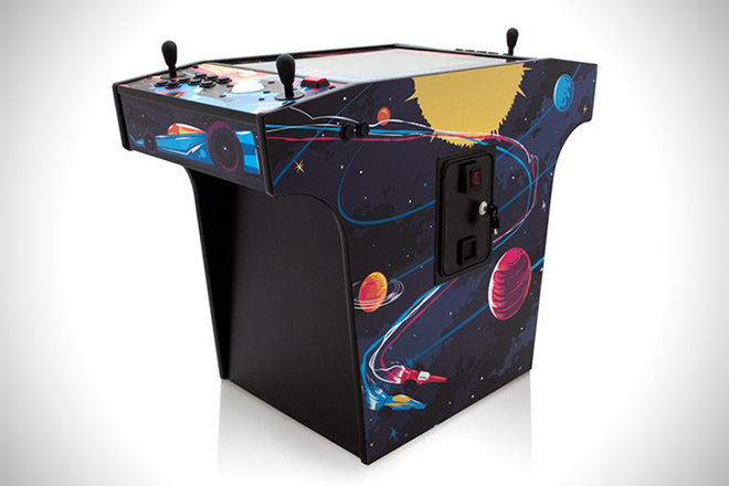 X Arcade SPACE RACE COCKTAIL ARCADE MACHINE