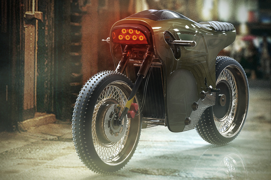 Electric Cafe Racer Concept 3