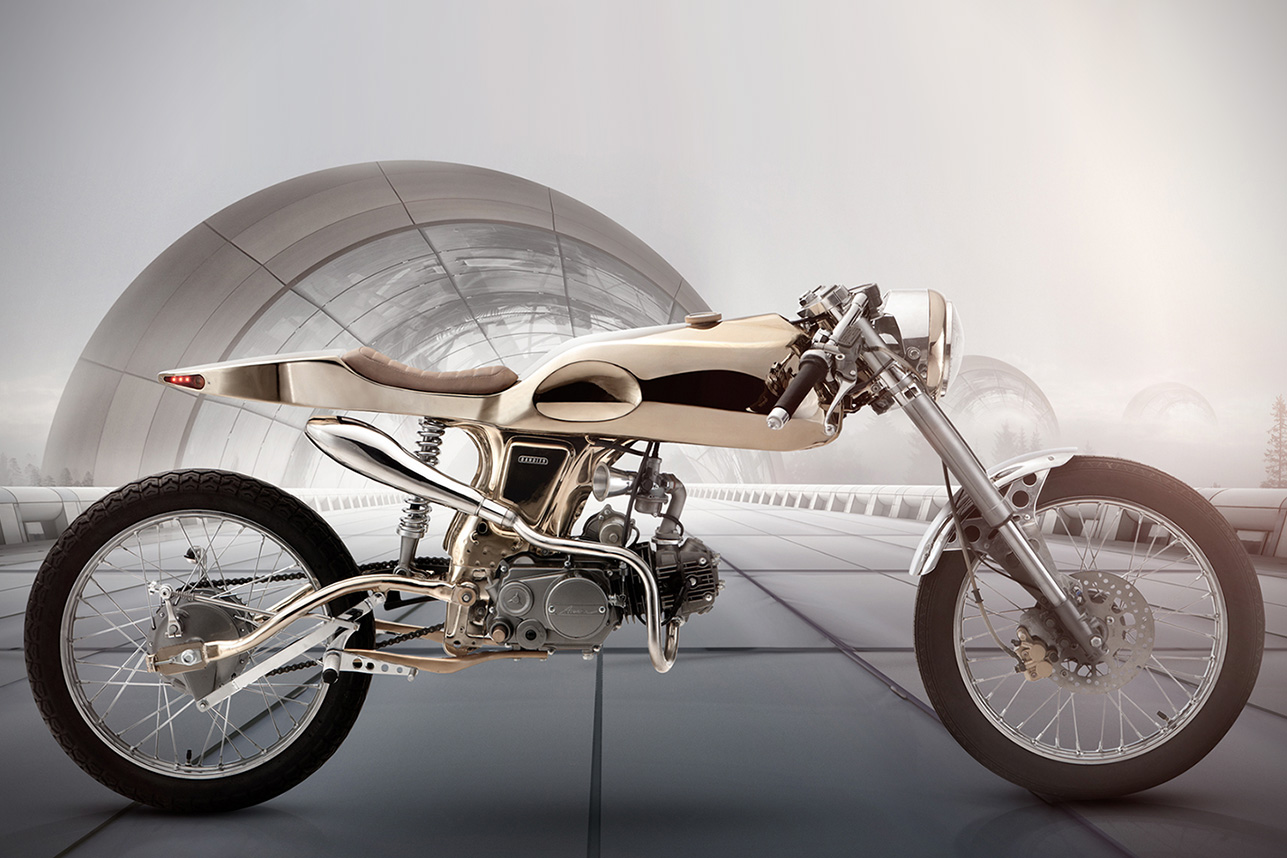 Honda SuperSport Eden by Bandit9 Motorcycles